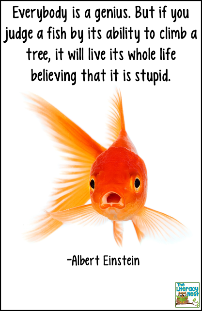 Image result for quotes about dyslexia fish