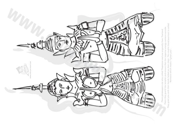 thailand coloring pages - photo#11