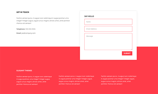 Unique Ways To Style DiviS Contact Form Module  Contact Form