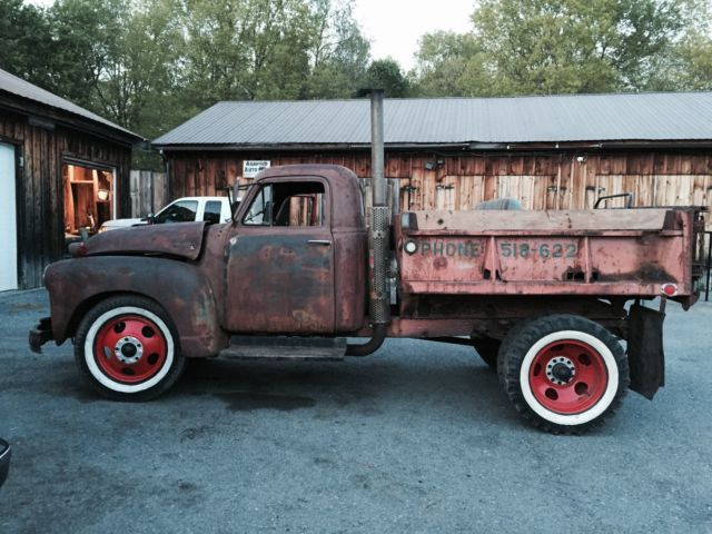 1953 Chevrolet 6400 Dump Truck Dually Pickup Rat Rod Trucks