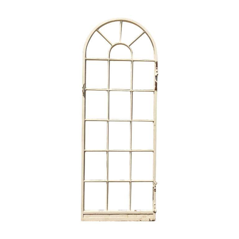 1920s Painted Steel Patio Door Or Window 20 Pane Window Or Door In 2020 Steel Patio Doors Patio Doors Architectural Pieces
