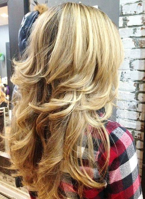 haircuts for long thick hair with layers and side bangs 15 best layered hairstyles for thick hair 2017 pretty 4569 | 3498df407eda6d1f7281646b911a1fe3