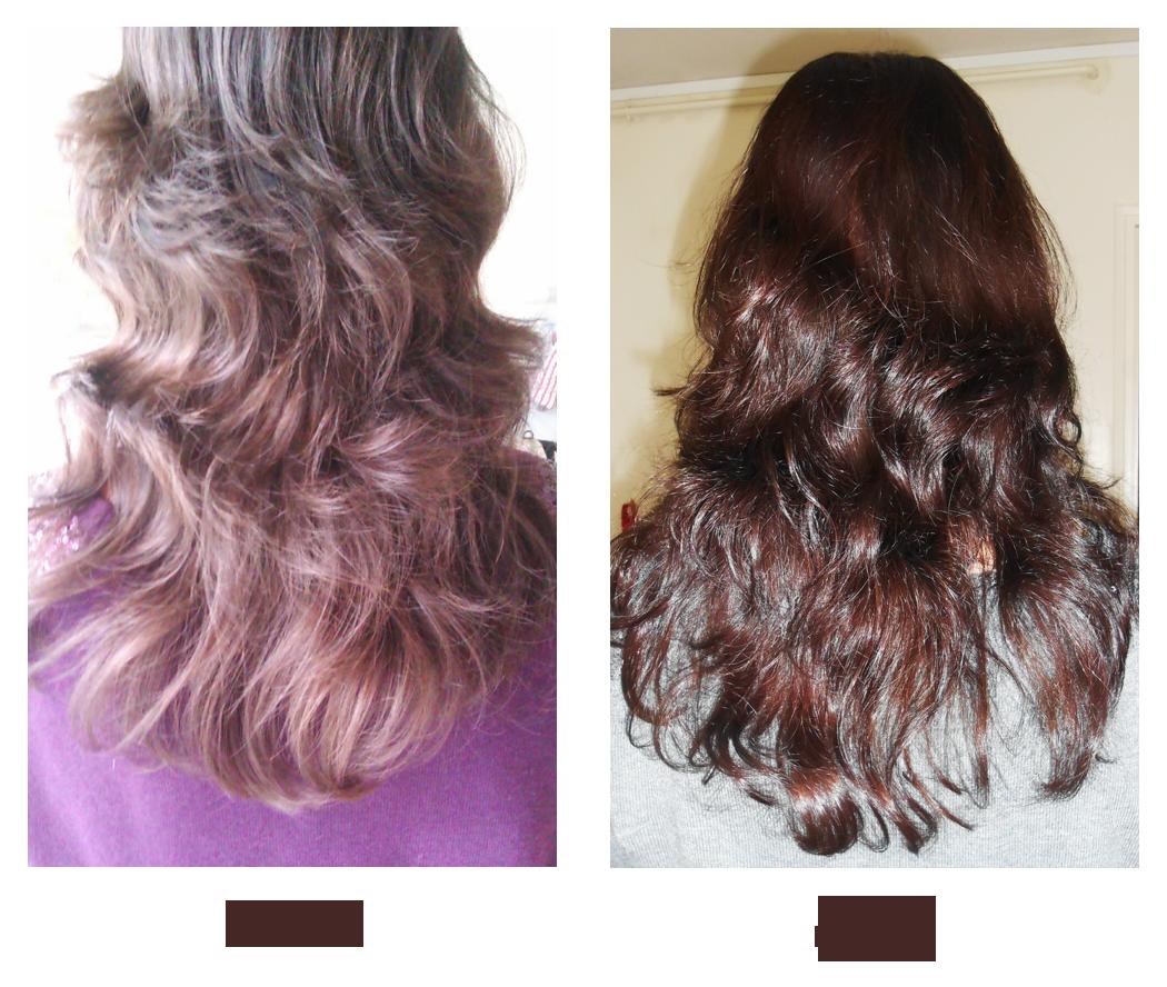 Test coloration naturelle cheveux