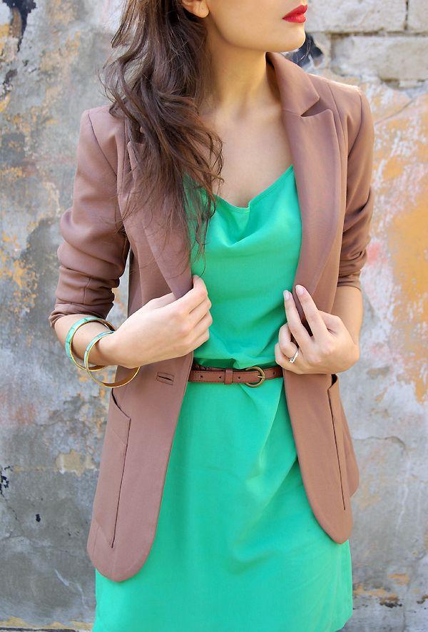 Lucines Blog Green+Brown