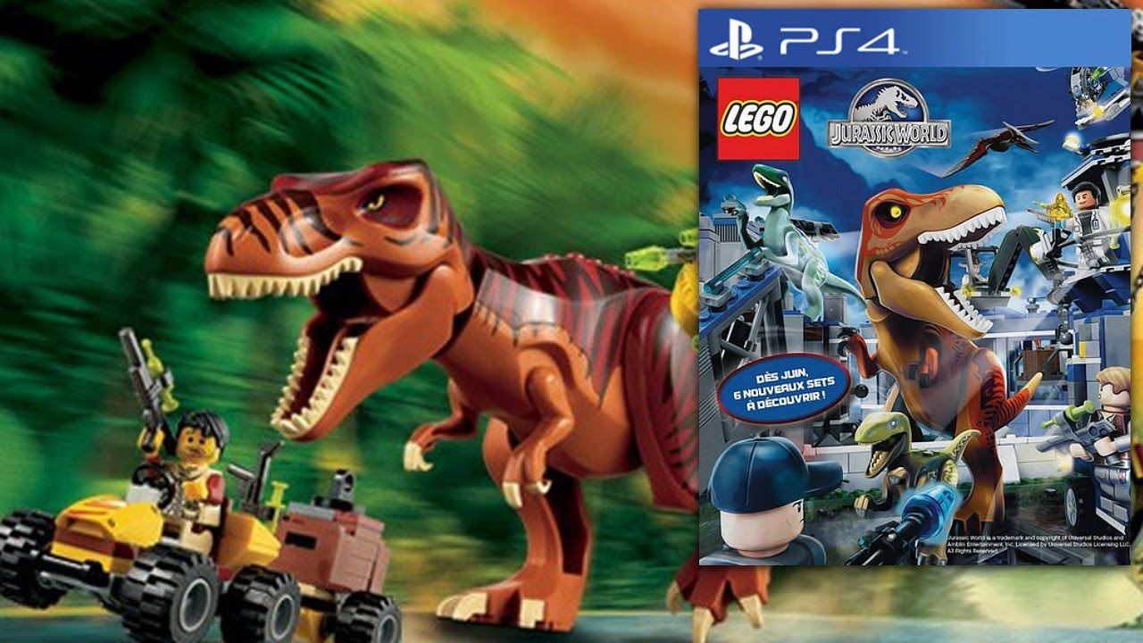Two new Lego games have been announced for this year. Lego Jurassic ...
