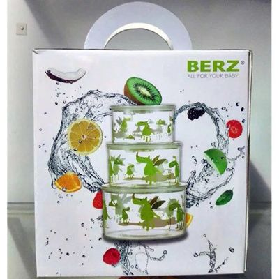 Baby Food Storage box vacuum sealing storage container set