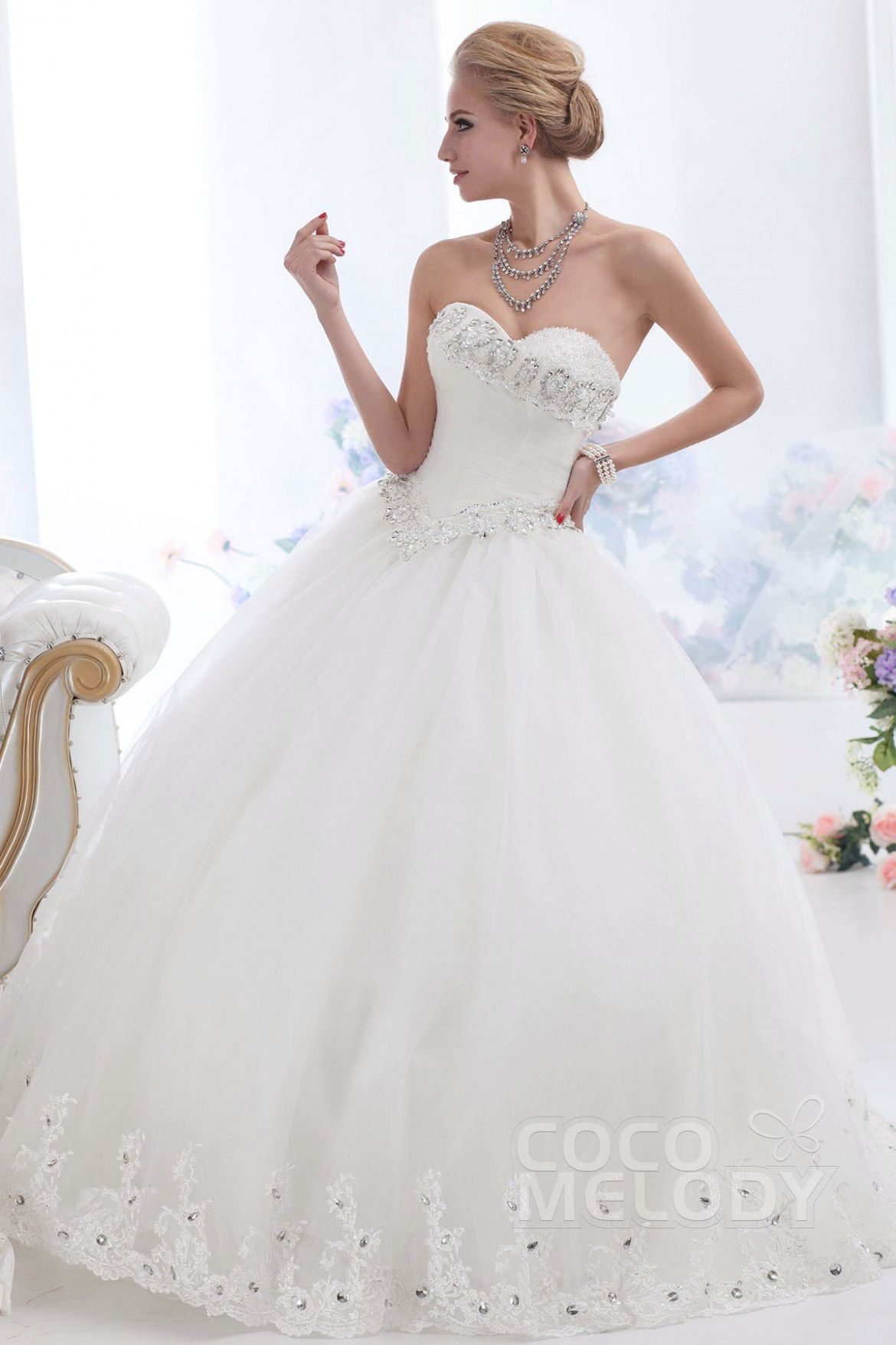 Wedding dress for pear shaped   Wedding Dresses Ball Gown Sweetheart  Best Wedding Dress for