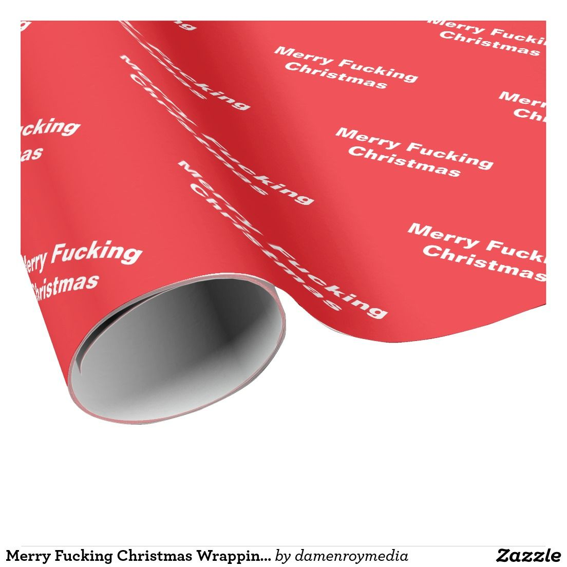 Merry Fucking Christmas Wrapping Paper | Carta da regalo natalizia ...