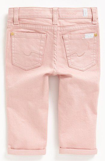 7 For All Mankind® 'Josefina' Jeans (Toddler Girls) (Online Only) | Nordstrom