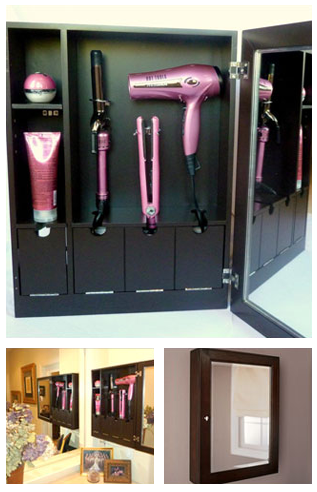 Could It Really Be The Perfect Place To Store My Hair Styling Tools I Want One So Bad Home Organization Home Diy Style