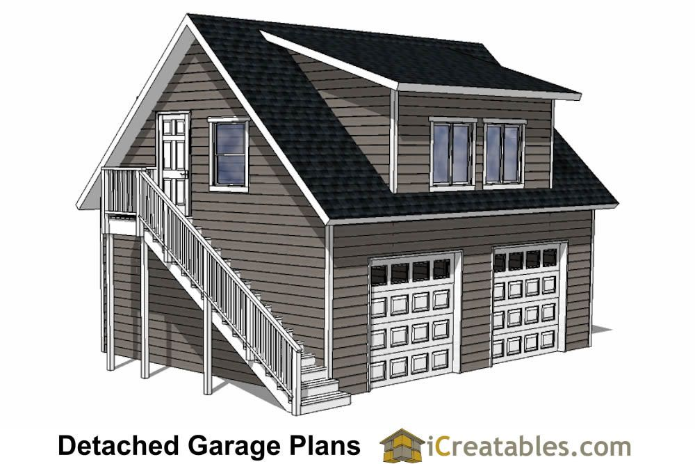 28x22 Garage Plans With Apartment Garage Plans Detached Garage Plans With Loft Diy House Plans