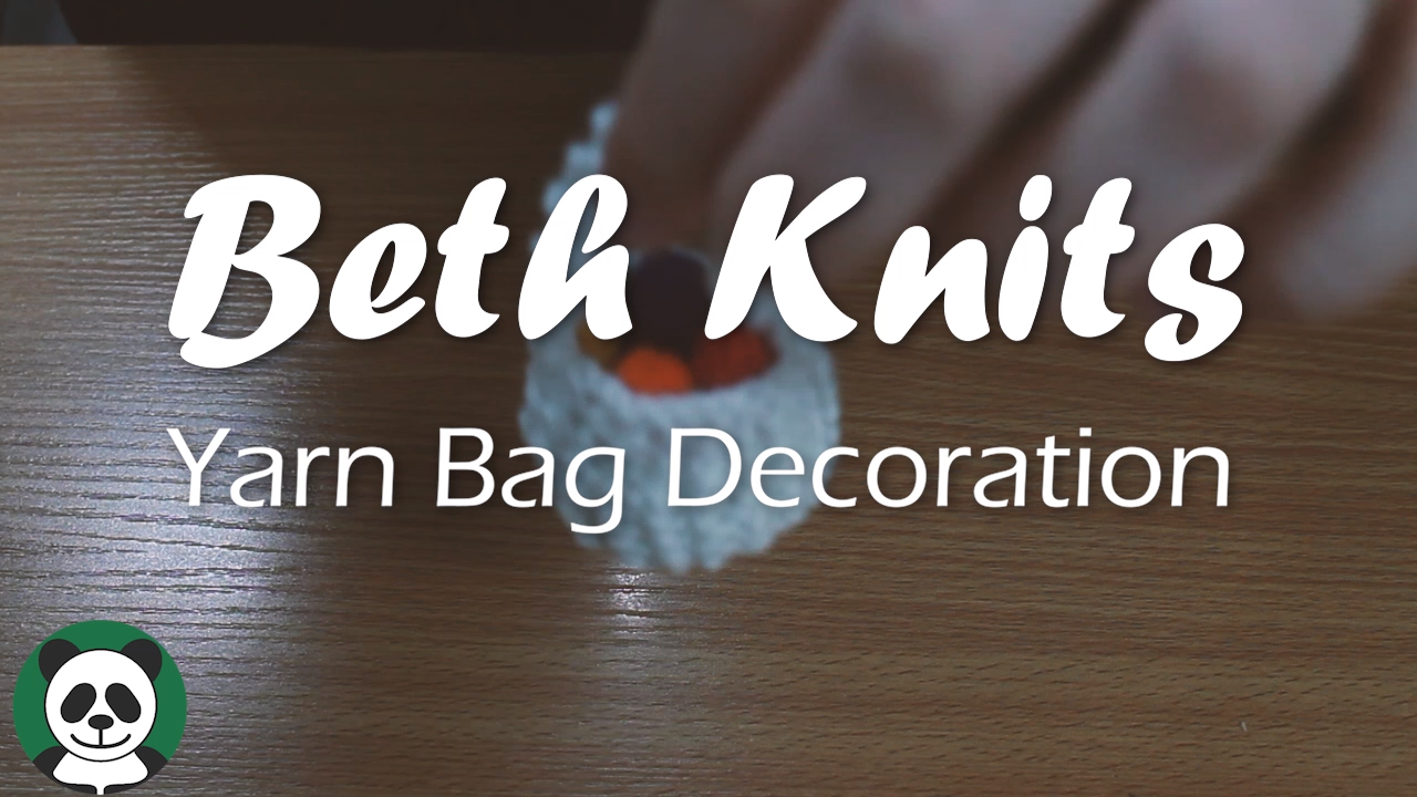 Photo of Beth Knits – Yarn Bag Decoration