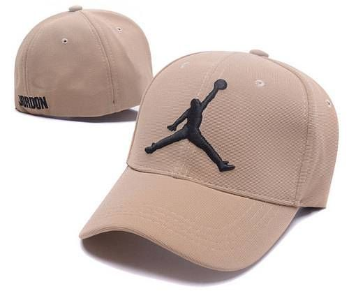 Jordan Stretch Fitted Baseball Caps Beige  8121f70ecd8