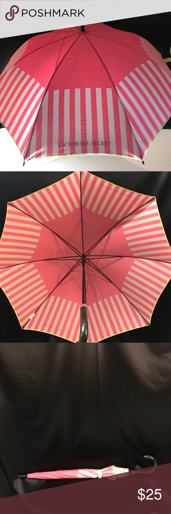 Victoria's Secret large umbrella pink white stripe Fun cute umbrella for those rainy days Large size Defects: dirt spot on top and rip in handle Victoria's Secret Accessories Umbrellas #largeumbrella Victoria's Secret large umbrella pink white stripe Fun cute umbrella for those rainy days Large size Defects: dirt spot on top and rip in handle Victoria's Secret Accessories Umbrellas #cuteumbrellas Victoria's Secret large umbrella pink white stripe Fun cute umbrella for those rainy days Larg #cuteumbrellas