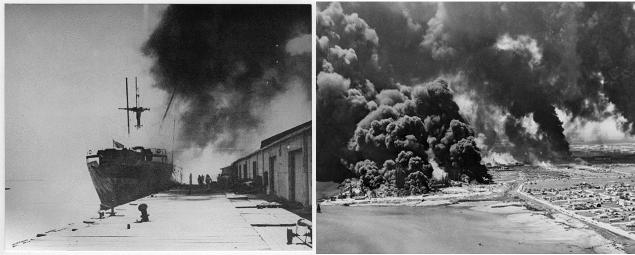 Image result for french ship explosion in texas 1947