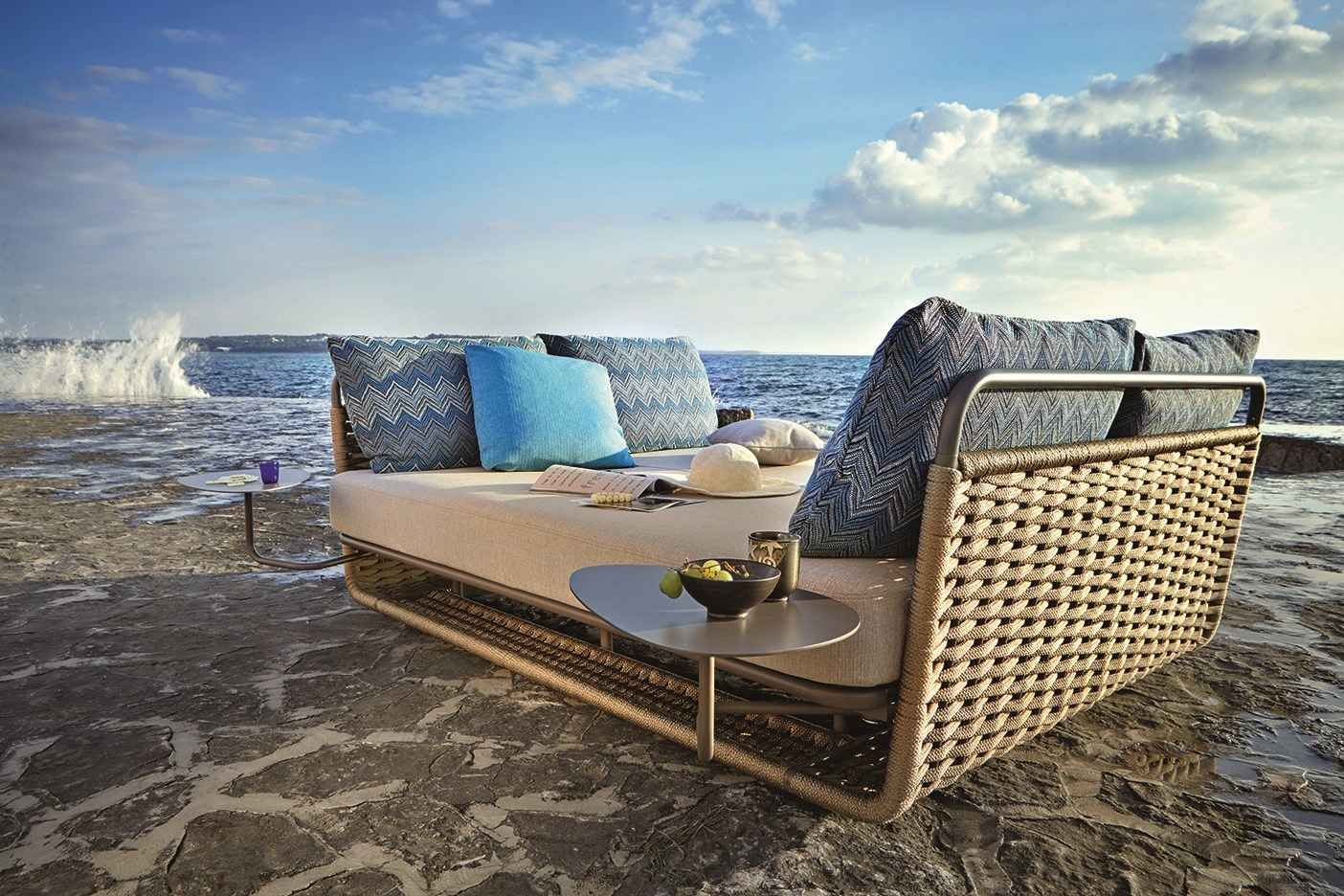 portofino daybed is the perfect outdoor napping bed - santiago