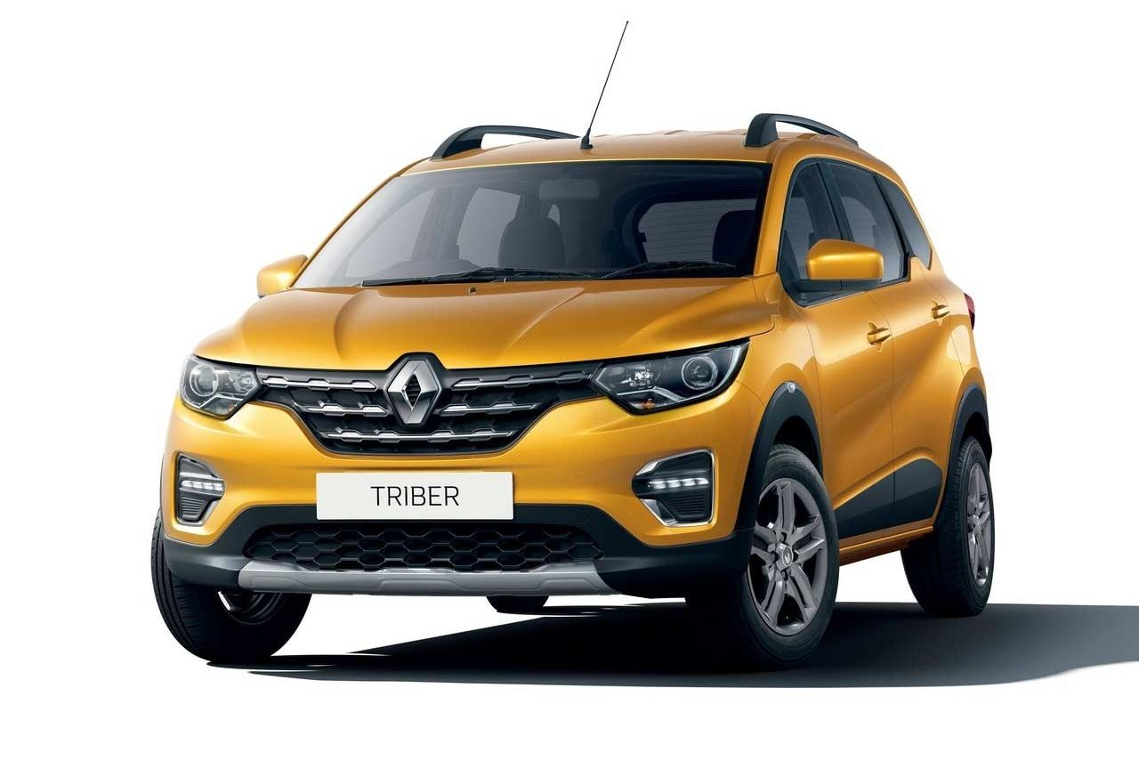 Renault Triber Amt Priced From Inr 6 18 Lakh In India Autobics Compact Suv Renault New Renault [ 855 x 1280 Pixel ]