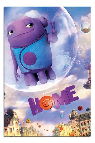 Home Dreamworks One Sheet Movie Poster | B T in 2019