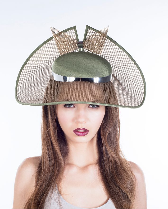 Sophie Beale Millinery. Cutting edge couture millinery by Sophie Beale.