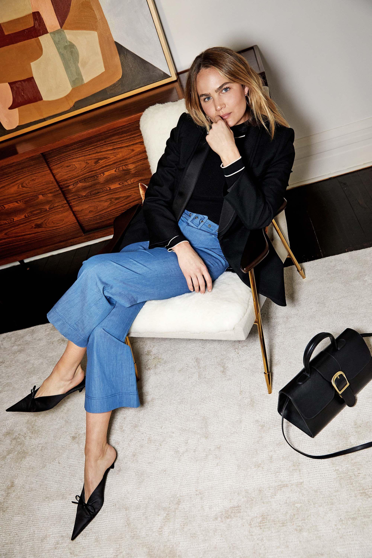 937dd6ecf7 Brooke Testoni wearing Balenciaga blazer