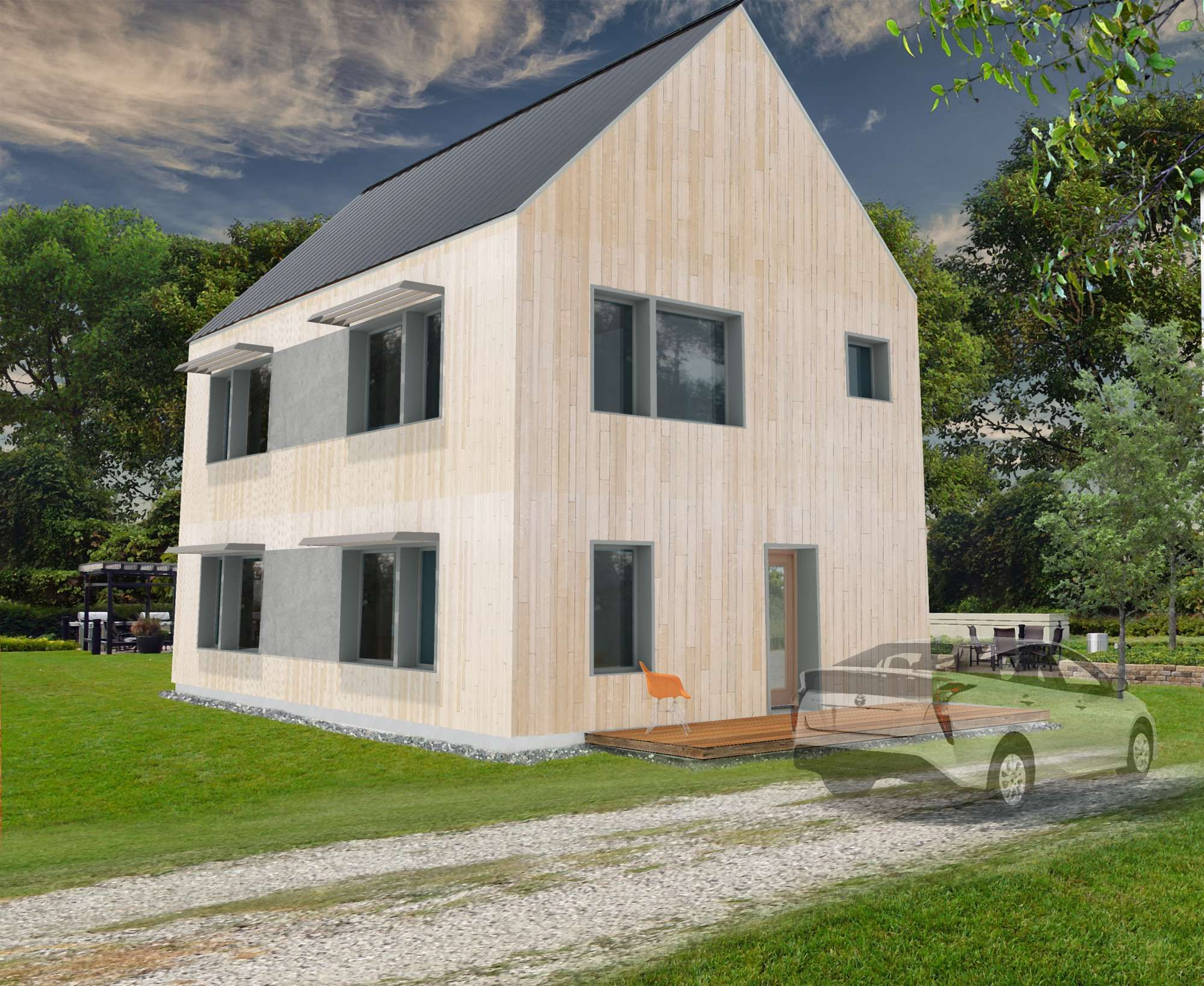Petunia - Design Plans - Solsken Homes By Ecocor