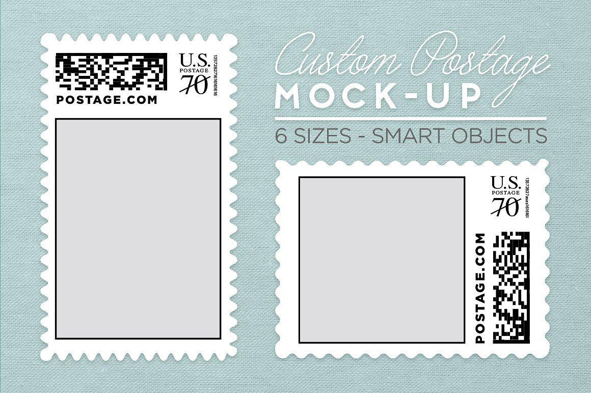 Custom Postage Stamp Template #medium#small#horizontal#large