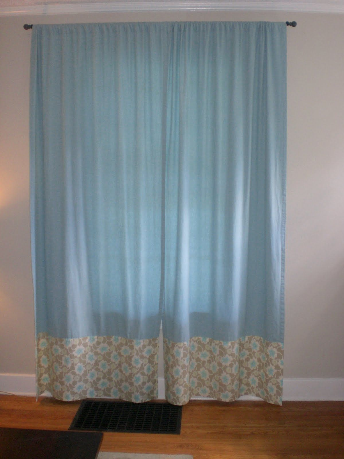 Delightful Fix Too Short Curtains