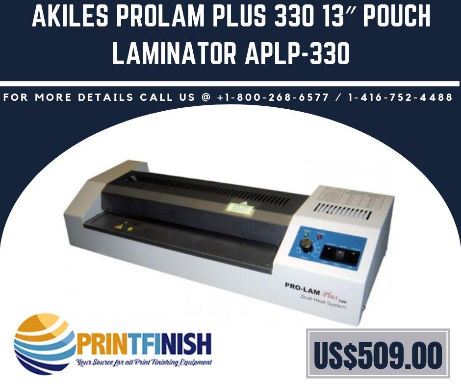 Akiles Prolam Plus 330 13 Pouch Laminator Aplp 330 Laminators Pouch Power Motors