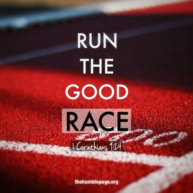 . Do you not know that in a race all the runners compete but [only] one receives the prize? So run [your race] that y… | Bible words. Daily ...