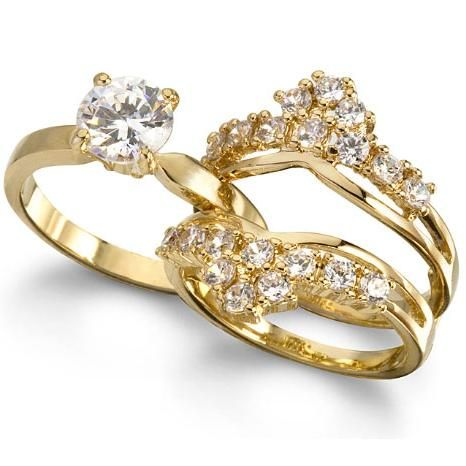 Gold Wedding Rings For Him And Her RingsCladdagh