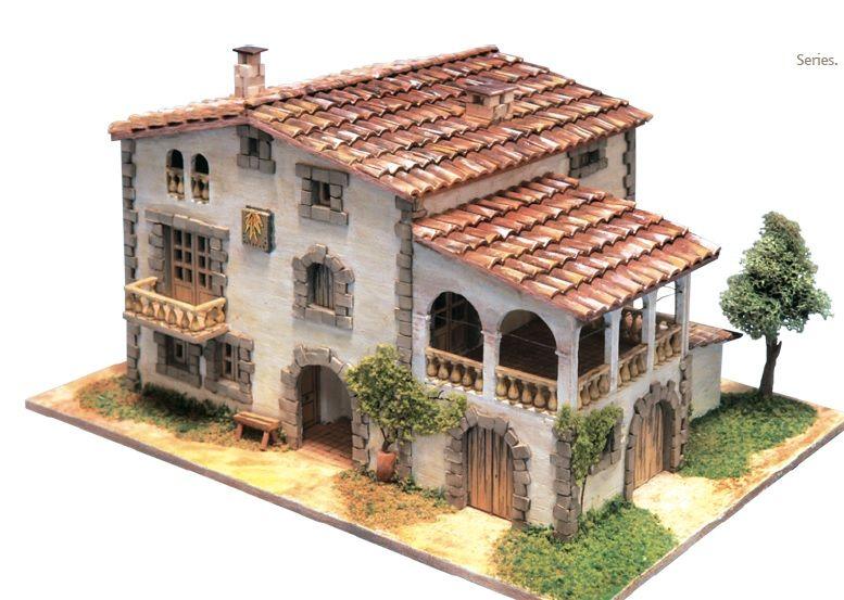 Domus kits 40951 kit maqueta casa t pica empord escala for Maquetas de jardines