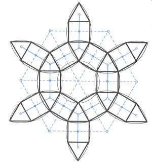 hexagonal grid   [ geometry ] in 2019   Geometric pattern