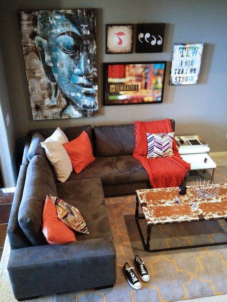 46 Inspiring Apartment Decorating Ideas For Men Page 43 Of 46 Mens Apartment Decor Men Home Decor Apartment Bedroom Decor