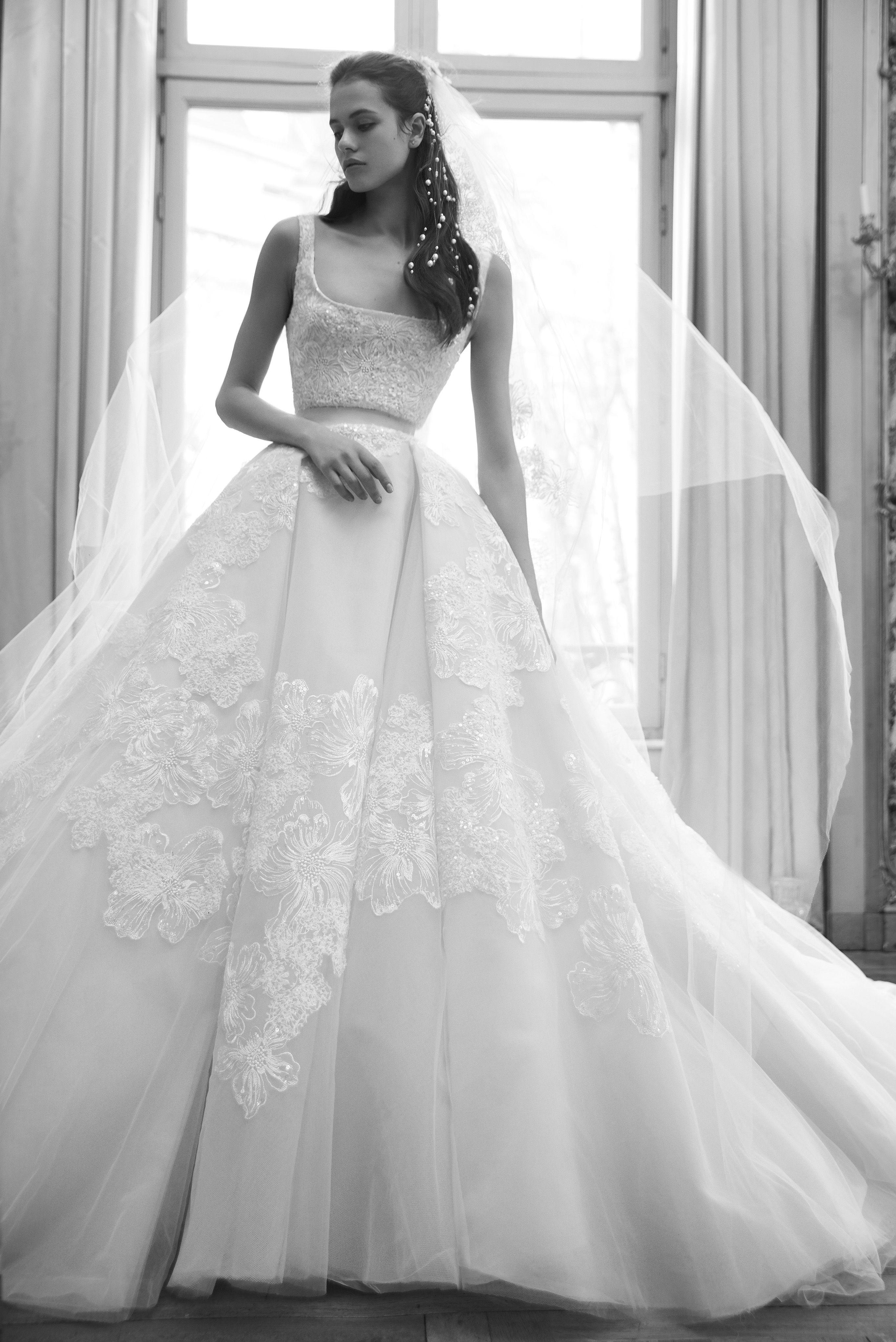 Elie Saab Ready To Wear Bridal Spring 2019 Elie Saab Wedding Dress Elie Saab Bridal Bridal Couture