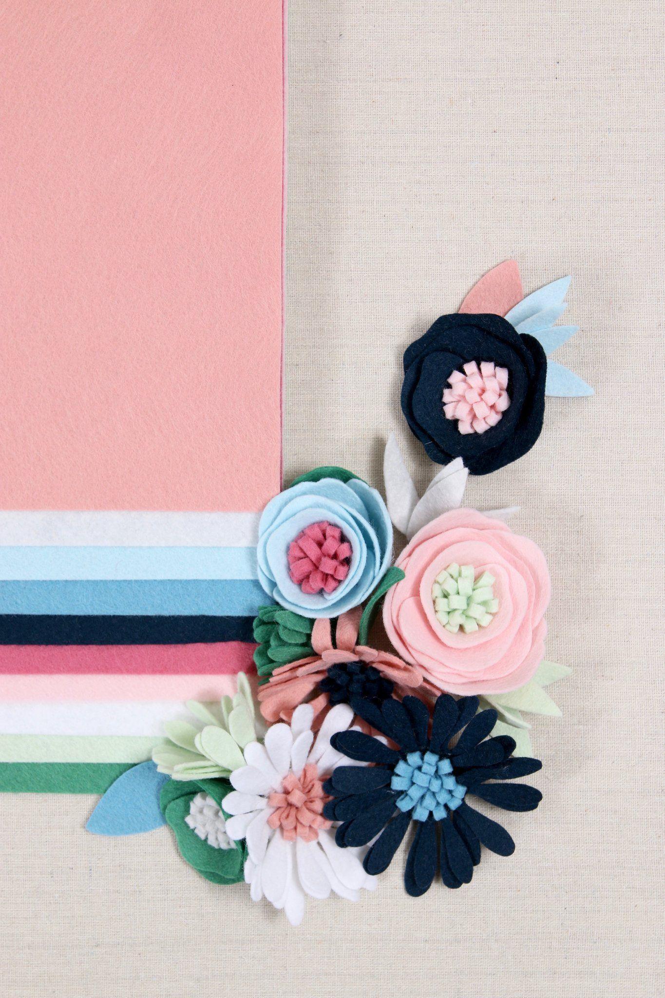 Tutorials Flower Diy Benzie Design With Images Felt