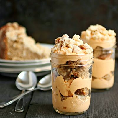 Hungry Couple: Gingerbread Pumpkin Trifle #HolidayFoodParty