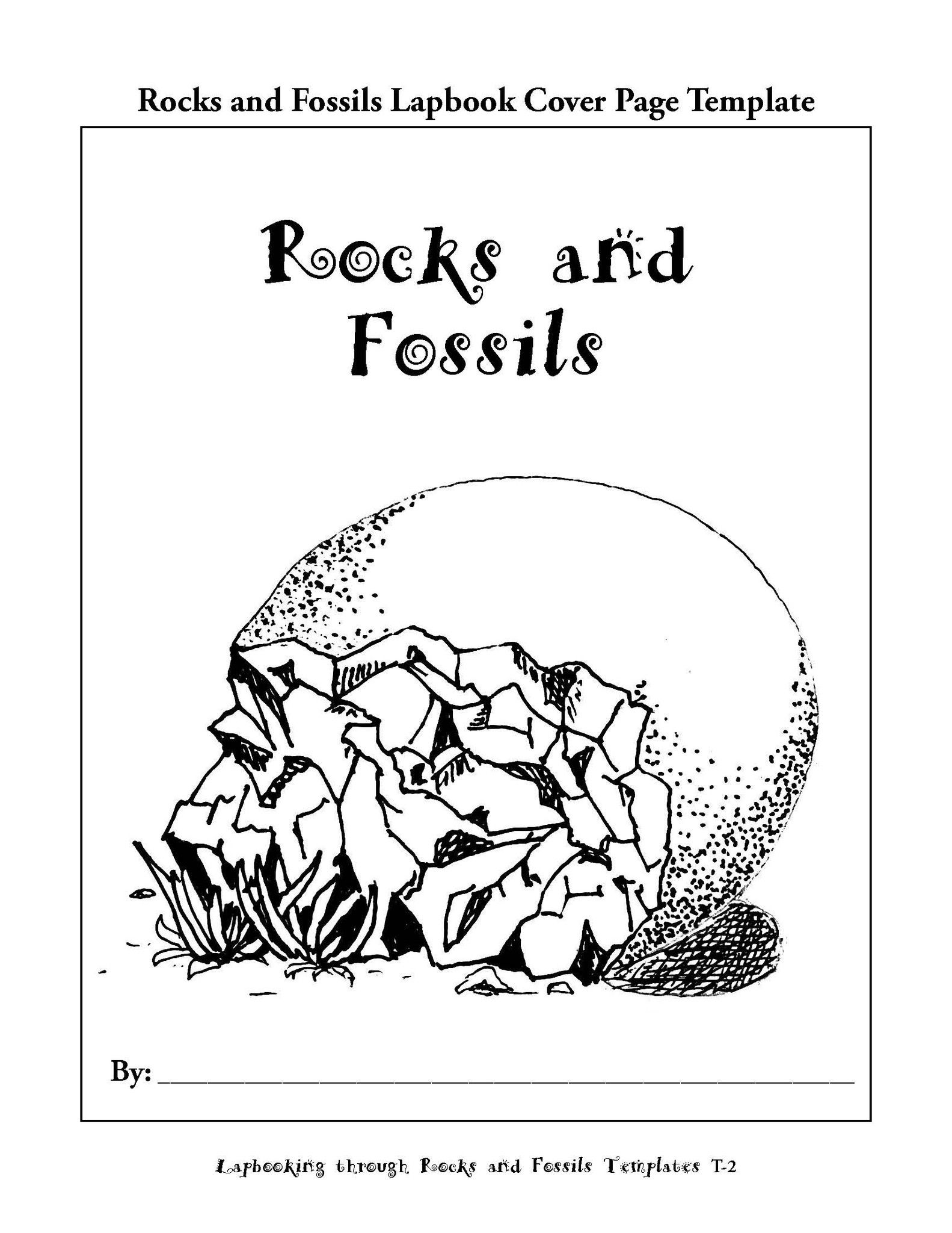 Lapbooking Through Rocks And Fossils Ebook