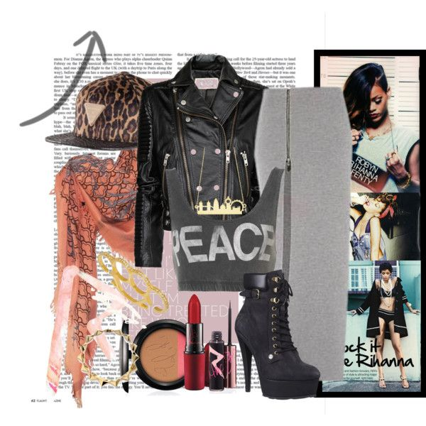 """rock it like rihanna!"" by niko-ni on Polyvore"