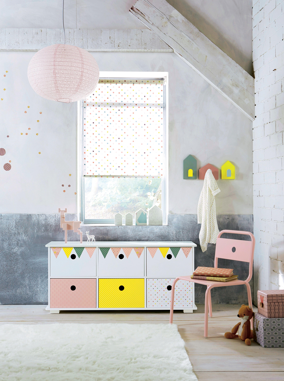 Meuble 6 Bacs Fille Theme Pastels D Hiver Chambre Et Linge De Lit