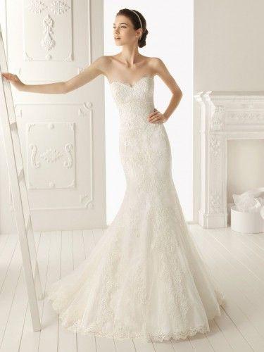 Mermaid Style Wedding Gowns 2013