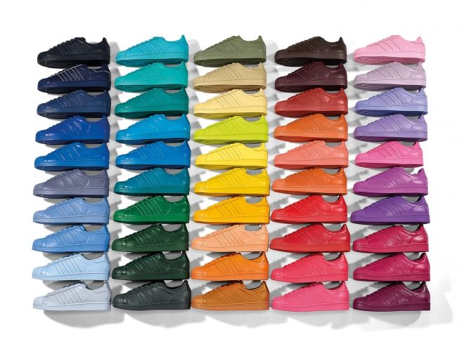 adidas originals 50 colors