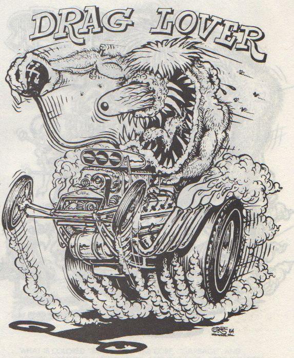 Rat Fink Coloring Pages Dog Fink by Phraggle DAP of RATFINK