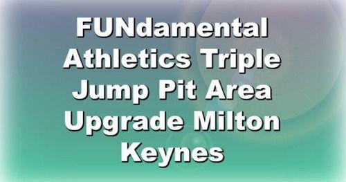 Just Pinned to Long Jump Runways: FUNdamental Athletics Triple...
