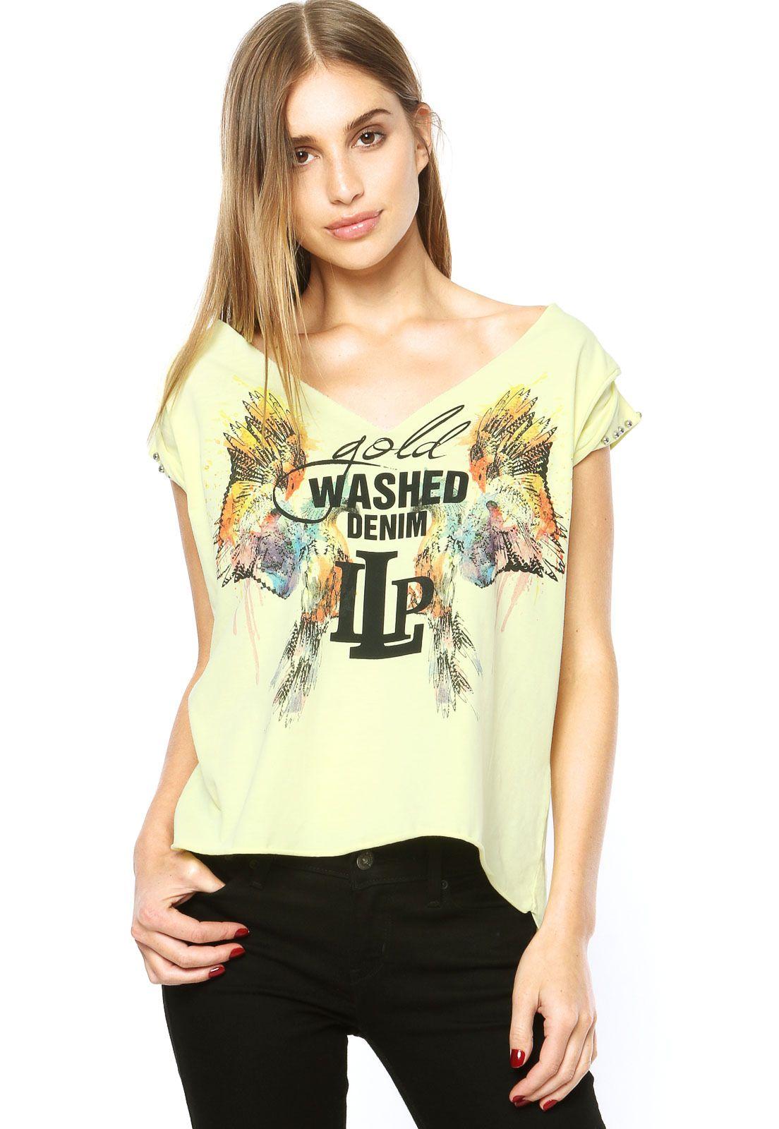 634329f48 Camiseta Lança Perfume Amarela - Compre Agora