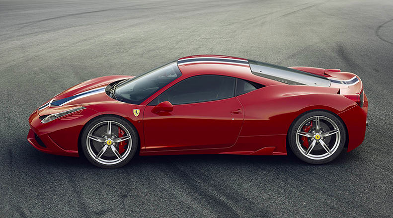 The Ferrari 458 Speciale it's Ferrari's new sportscar