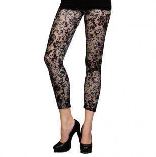 Floral Net Leggings