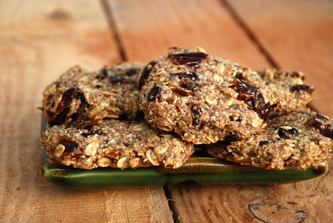 Date square cookies vegan glutenfree date squares