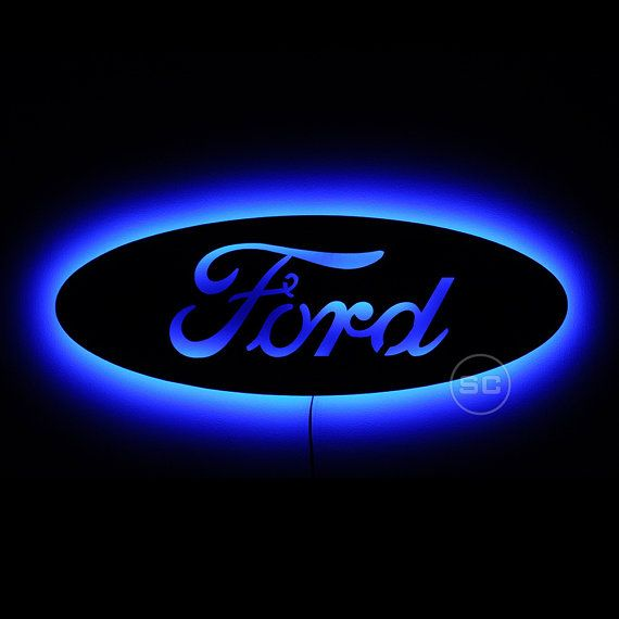 3499e21a453eb38d0c11fef12c0e5af0 lighted ford sign led backlit ford emblem night lighted and ford Lighted Ford Logo at crackthecode.co