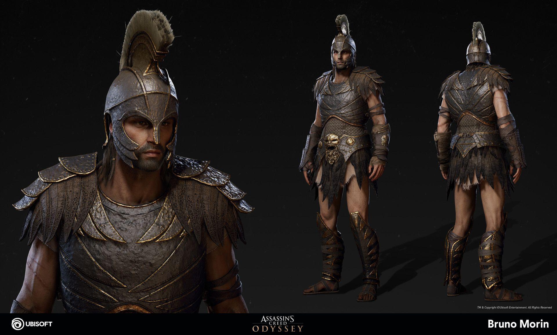 assassins creed odyssey assassins armor - HD1600×963