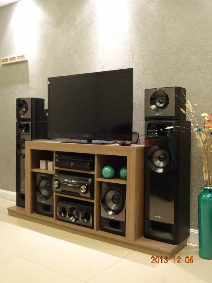 Mueble para home theater sony muteki 9556 mla20017453455 for Muebles modernos para el hogar